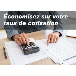 Économisez sur votre taux de cotisation accident du travail / maladie professionnelle (AT/MP)
