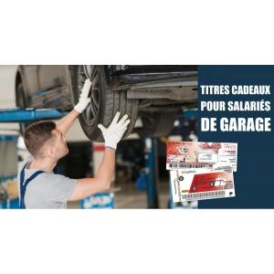 Titres cadeaux pour les salariés de votre garage
