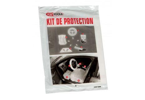 Kit de 5 protections plastiques pour habitacle, boite de 100 pcs
