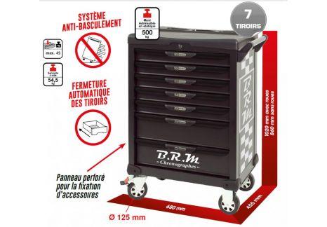 Servante One by One édition limitée BRM 7 tiroirs équipée de 369 outils