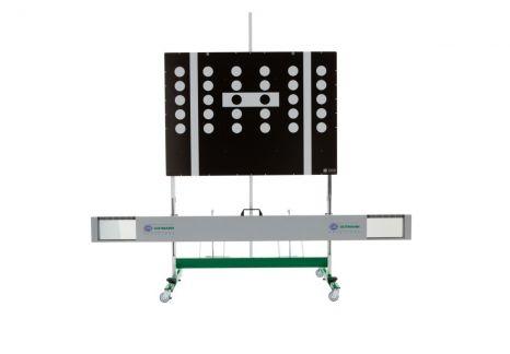 Outil de calibration des caméras et capteurs CSC TOOL SE (cible VAG incluse) et jeu têtes laser d'alignement