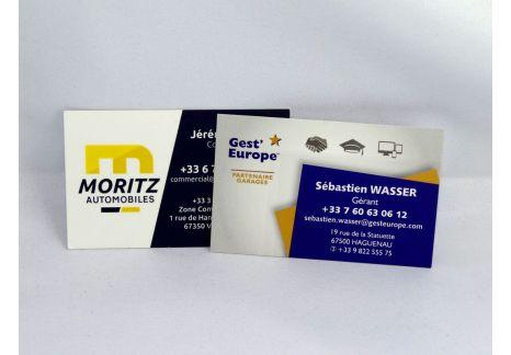 Cartes de visite Prestige